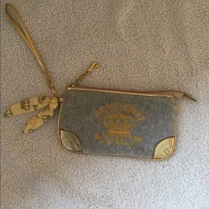 Juicy Couture Preppy Royalty Wristlet